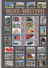 Gb 2008 Smiler Feuille Best Of British avec Certificat de Authenticité MNH