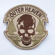 Metal Gear Solid The Phantom Pain Outer Heaven Logo Embroidered Desert Patch -02