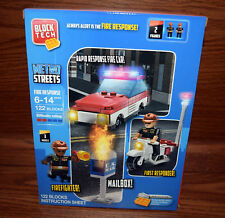 Block Tech Metro Squad Police Swat Capture Motorcycle Kids Toys New Free Ship