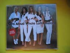 GIRLS ALOUD-WHOLE LOTTA HISTORY. 2006 2 TRACK CD SINGLE. POP DISCO SOUL