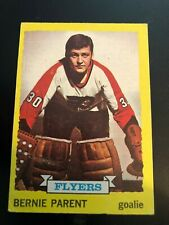 1973-74 Topps #66 Bernie Parent Philadelphia Flyers Hockey Card VG++++
