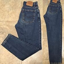"""VTG Levi's 550 Relaxed Fit Tapered Leg Jeans High Waist 10 M MIS 30"""" Waist Mom"""