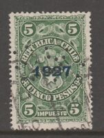 Chile fiscal revenue cinderella stamp 5-31-82