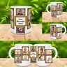 PERSONALISED MUG 10 PHOTO COLLAGE ADD TEXT CUSTOM DESIGN GIFT TEA COFFEE CUP v2