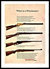 1962 Oliver Winchester Henry Repeater.Model 1873.1895 and Model 100 Print Ad