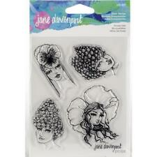 FLOWER GIRLS - Clear Stamp Set - Jane Davenport Artomology