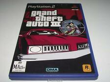 Grand Theft Auto III PS2 PAL *Manual and Map*