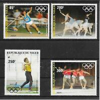 i223 NIGER/ Olympia 1984 MiNr 846/49 **