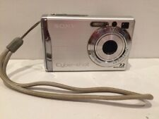 Sony CyberShot DSC-W80 Digital Camera 7.2MP Silver TESTED