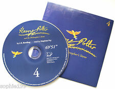 Harry Potter Philosophers Stone Stephen Fry Audio Book CD SPARE DISC: FOUR 4