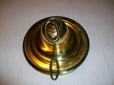 """New listing Vintage Brass Ceiling Cap Canopy 5 1/2"""" dia. For Chandelier Hanging Lamp"""