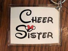 Cheerleading Keychain with Cheer Sister 3