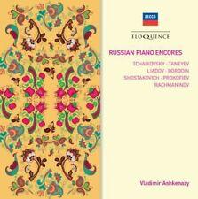 Vladimir Ashkenazy - Russian Piano Encores [New CD]