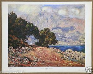 Claude Monet  Cape Martin  Menton 1st Ltd Ed 1st Ltd Ed Original 1960 Lithograph