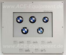 original BMW Logotafel Motorrad email Schild BMW Emblem rare BMW sign NEU new