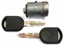 NEW FORD OEM IGNITION SWITCH LOCK CYLINDER WITH 2 TRANSPONDER CHIPPED KEYS
