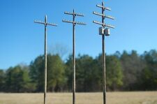 N Scale 40' Power Pole Kit for Model Railroad Hobby by Century Foundry (520)