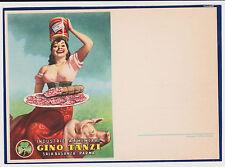 BOCCASILE ALIMENTARI SALUMI GINO TANZI PARMA 1950 SUPER ! ! !