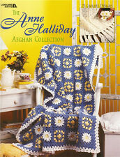 ANNE HALLIDAY AFGHAN COLLECTION Crochet Patterns Paperback Crafts Book English