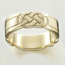 Ola Gorie Silver Celtic Wedding / Dress Rings Box