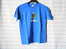 KENTUCKY DERBY 2016 / 142 OFFICIALLY LICENSED YOUTH SMALL T-SHIRT BLUE NWT
