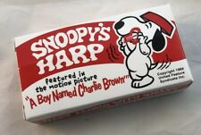 Snoopy's Mouth, Jaw Harp, Peanuts cartoon, Sealed in BOX