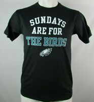 Philadelphia Eagles Men's Fanatics Black Sundays are for the Birds T-shirt NFL
