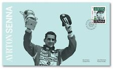 FORMULA 1 = F1 Brazilian legend champion AYRTON SENNA FDC, OFDC Canada 2017