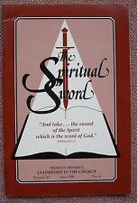 Leadership In The Church ~ Spiritual Sword ~ Church of Christ ~ 1996