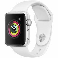 Apple Watch S3 GPS 38mm Silver Aluminium White Sport Band