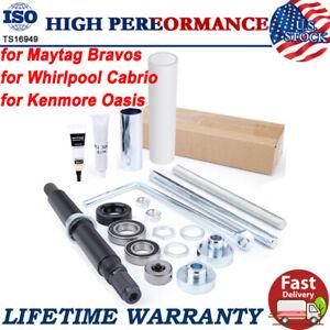 Washer Shaft Bearing Kit & Tool for Maytag Bravos Whirlpool Cabrio Kenmore Oasis