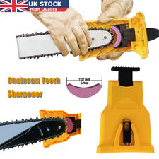 Easy to Use Chainsaw Teeth Sharpener Chain Saw Blade Sharpening Grinder Tool UK