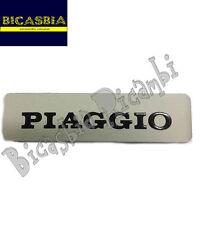 0457 TARGHETTA SERBATOIO IN ALLUMINIO PIAGGIO SI - CIAO P PX PV PXV