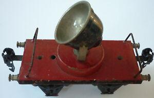 Märklin Eisenbahn, Flackscheinwerferwagen 1929 - 1932     (Art.3735)