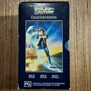 Back To The Future Trilogy Vhs PAL