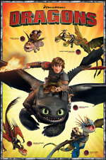 Official How to Train your Dragon 2 One Sheet Maxi Poster 91.5 x 61cm Viking Ber