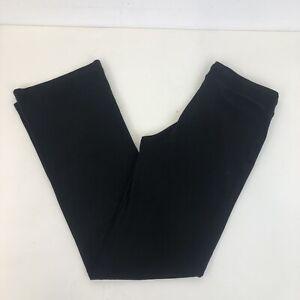 Sweaty Betty Black Cotton Blend Casual Yoga Gym Sweat Pants Joggers Trouser Sz M