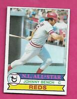 1979 TOPPS # 200 REDS JOHNNY BENCH  NRMT-MT  CARD (INV# C3952)