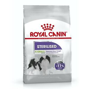 Royal Canin X-Small Sterilised Dry Dog Food for 10kg Neutered Adult Dogs - 1.5kg
