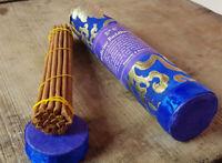 Medicine Buddha Tibetan Incense packed in Brocade Tube -  Handmade Incense NEPAL