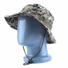 DIGICAM CAMOUFLAGE BOONIE JUNGLE HAT - Fishing Hunting Army Camo Cap Camping