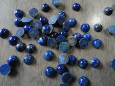 Cabochon Gemstone Lapis Lazuli Blue Grade B 6mm (pkg 45) Round
