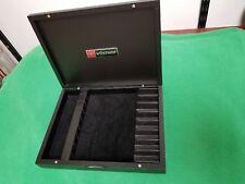 Steak knife storage box  black Wusthof Trident *empty--knives not included