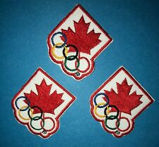 3 Lot Rare 1994 Olympic Winter Games Lillehammer Team Canada Hat Jacket Patches