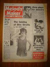 MELODY MAKER 1979 JAN 6 DIRE STRAITS COSTELLO BOB DYLAN