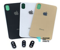 iPhone XS / XS Max Back Glass Battery Cover Door Replacement Camera Lens Frame