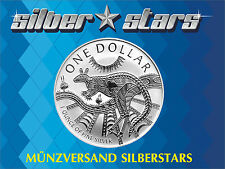 1 DOLLAR Silber Känguru / Kangaroo 2003  1 OZ  RAR !