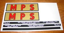 Buddy L MPS Moving Semi Sticker Set            BL-116
