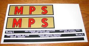 Buddy L MPS Moving Semi Sticker Set            BL-116