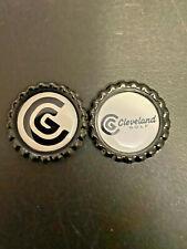 (2) CLEVELAND GOLF - BOTTLE CAPS - GOLF BALL MARKERS